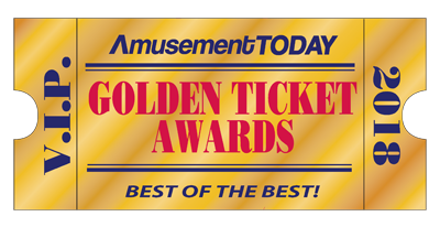 Amusement Todays Golden Ticket Award